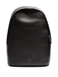 Paul Smith City Pebbled Leather Backpack Black Multi