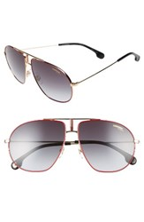 Carrera Men's Eyewear Bounds 62Mm Gradient Aviator Sunglasses