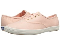 Keds Champion Metallic Canvas Rose Gold Metallic Women's Lace Up Casual Shoes