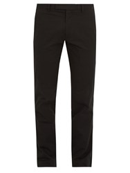 Polo Ralph Lauren Slim Fit Stretch Cotton Chino Trousers Black