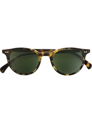 Oliver Peoples 'Delray' Sunglasses Brown