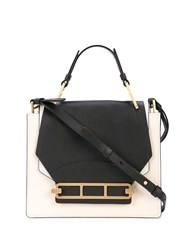 Zac Posen Katie Shopper Crossbody Bag White