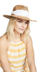 Hat Attack Cane Rancher Toast White