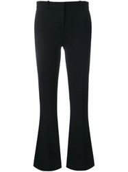 Versace Tailored Cropped Trousers Black