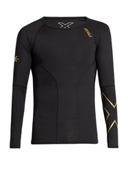 2Xu Elite Compression Long Sleeved Performance Top Black Multi