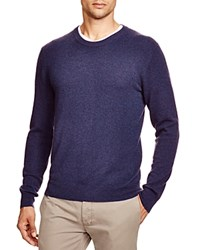 The Men's Store At Bloomingdale's Crewneck Cashmere Sweater Blueberry