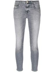 Closed Classic Skinny Jeans Women Cotton Polyester Spandex Elastane 25 Grey