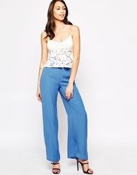 Love Palazzo Trousers Blue