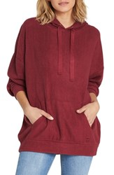 Billabong Don't Go Slouched Hoodie Cranberry