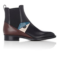 Fendi Women's Buggies Eye Chelsea Boots Dark Grey
