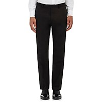 Barneys New York Men's Twill Harper Trousers Black