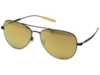 Paul Smith Davison Matte Black Gold Mirror Glass Fashion Sunglasses Yellow
