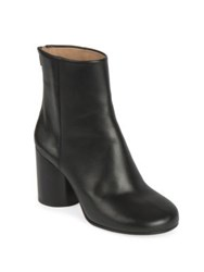 Maison Martin Margiela Barrel Heel Leather Booties