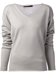 Denis Colomb Loose Sweater Grey
