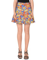 Denny Rose Skirts Knee Length Skirts Women Blue