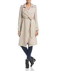 Bagatelle Drapey Trench Coat Taupe