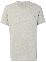 Polo Ralph Lauren Classic T Shirt Cotton Xxl Grey