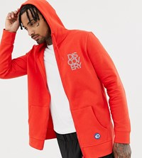 Craghoppers Discovery Hooded Jacket Dynmt Distn Red