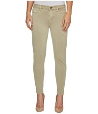 Liverpool Devon Relaxed Ankle Skinny In Stretch Peached Twill In Pure Cashmere Pure Cashmere Women's Jeans Gray