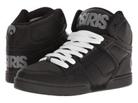 Osiris Nyc83 Black Grey White Men's Skate Shoes