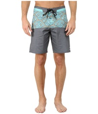Billabong Shifty X Boardshorts Black Mint Men's Swimwear