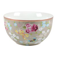Pip Studio Chinese Rose Bowl Khaki 18Cm