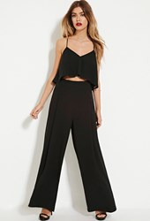 Forever 21 The Fifth Label Palazzo Pants Black