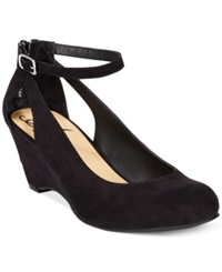 American Rag Miley Chop Out Wedges Women's Shoes Black