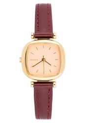 Komono The Moneypenny Watch Gold Peach Red