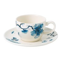 Wedgwood Blue Bird Espresso Cup And Saucer
