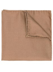 Dsquared2 Classic Pocket Square Brown