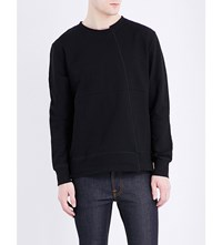 Nudie Jeans Simon Cotton Sweatshirt Black