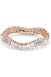 Suzanne Kalan 18 Karat Rose Gold Diamond Ring 7