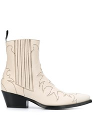Sartore Pointed Cut Out Detail Boots 60