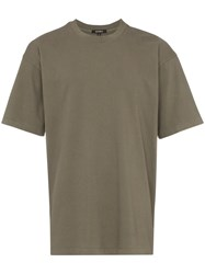 Yeezy Military Classic Cotton Short Sleeve T Shirt Green