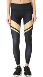 Splits59 Arrow Tight Leggings Black Khaki