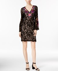 Inc International Concepts Embroidered Lace Sheath Dress Only At Macy's Embellished Butterfly