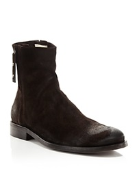 Robert Graham St. Andrews Suede Side Zip Boots