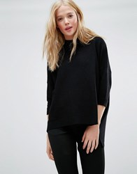 Gestuz Retro Turtleneck Jumper Black