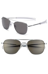 Randolph Engineering Men's 55Mm Polarized Aviator Sunglasses