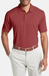 Men's Cutter And Buck 'Genre' Drytec Moisture Wicking Polo Chutney Red