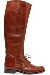 Ariat Palencia Lace Up Leather Riding Boots Tan