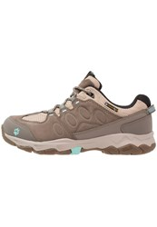 Jack Wolfskin Mtn Attack 5 Texapore Walking Shoes Light Blue Brown