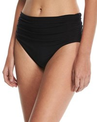 Magicsuit Jersey Brief Swim Bottom W Shirring Plus Size Black
