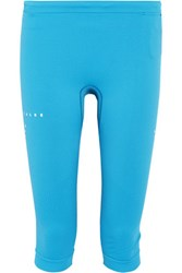 Falke Ergonomic Sport System Cropped Stretch Jersey Leggings Light Blue