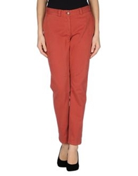0039 Italy Casual Pants Rust