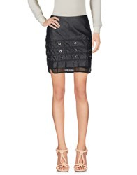 Mnml Couture Knee Length Skirts Black