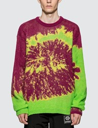 Misbhv Tie Dye Knitted Sweater Multicolor