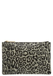 Whistles Clutch Ivory Off White