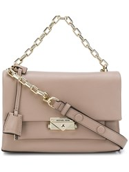 Michael Kors Cece Medium Shoulder Bag Neutrals